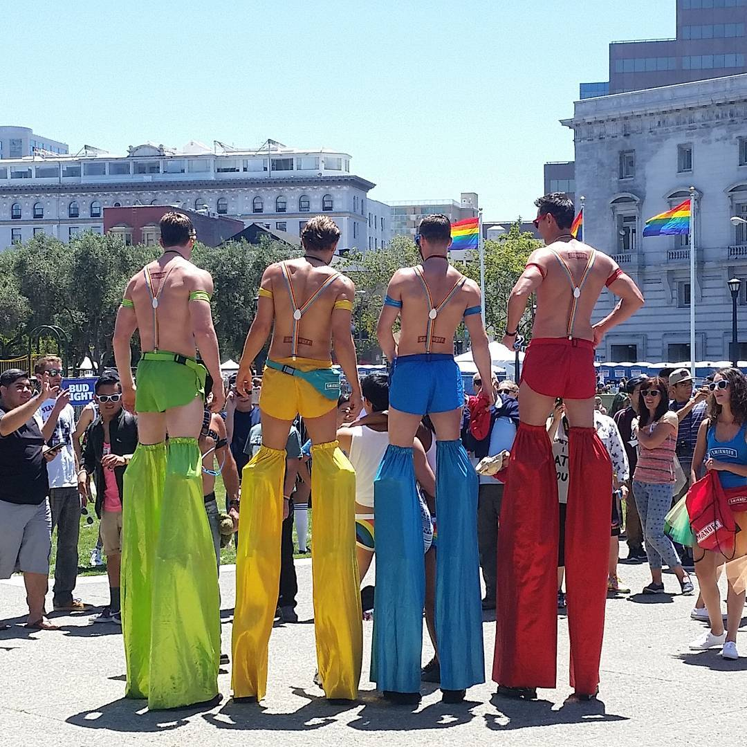 <div class='meta'><div class='origin-logo' data-origin='none'></div><span class='caption-text' data-credit='Photo submitted to KGO-TV by @eddiehernandezphotography/Twitter'>San Francisco Pride event at Civic Center on Saturday, June 25, 2016.</span></div>