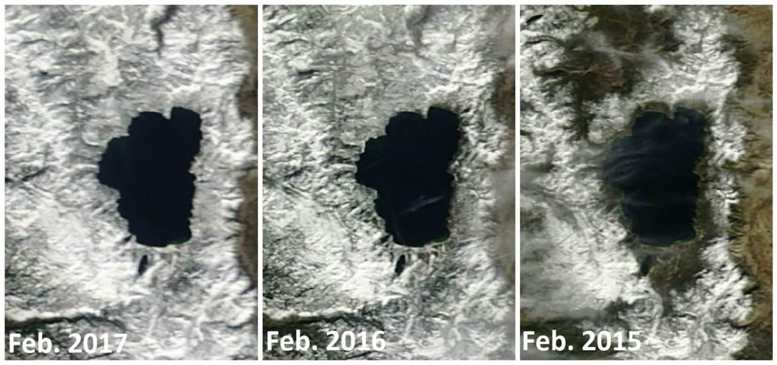 Nasa Satellite Images Show The Bay Area Before And After