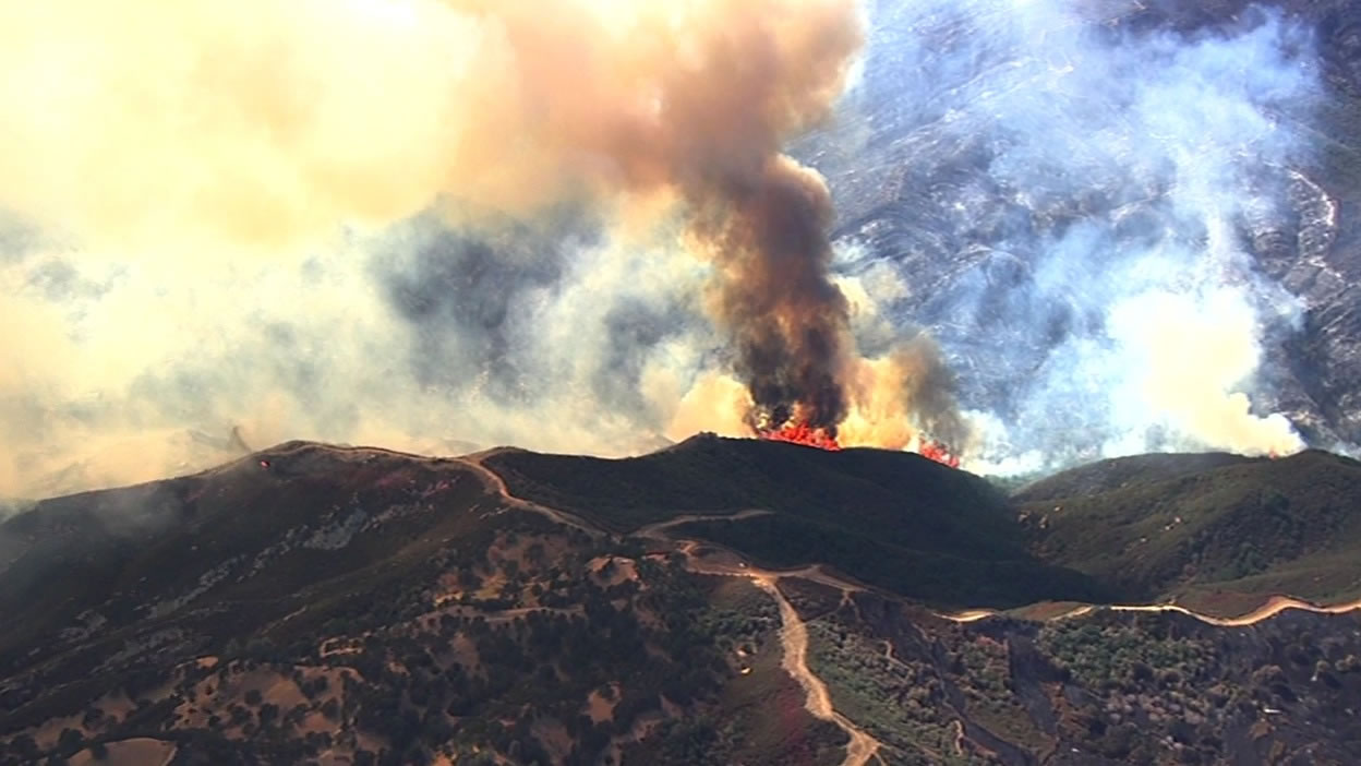 <div class='meta'><div class='origin-logo' data-origin='none'></div><span class='caption-text' data-credit='KGO-TV'>SKY7 HD was over a 400-acre flare-up of the Wragg Fire near Lake Berryessa on Tuesday, July 28, 2015.</span></div>