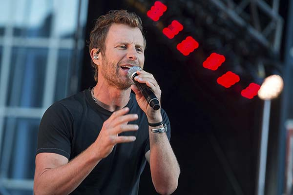<div class='meta'><div class='origin-logo' data-origin='AP'></div><span class='caption-text' data-credit='Charles Sykes/Invision/AP'>Dierks Bentley performs on ABC's &#34;Good Morining America&#34; on Wednesday, Nov. 2, 2016, in Nashville, Tenn.</span></div>