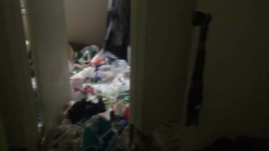 <div class='meta'><div class='origin-logo' data-origin='none'></div><span class='caption-text' data-credit='Photo/Paul Gomberg'>A home filled with animal feces and trash is known is being called, &#34;Houston's filthiest house.&#34;</span></div>