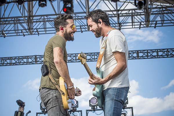 <div class='meta'><div class='origin-logo' data-origin='AP'></div><span class='caption-text' data-credit='Amy Harris/Invision/AP'>Matthew Ramsey, left, and Brad Tursi of Old Dominion perform at CountryFlo Music & Camping Festival at Triple Canopy Ranch on Sat, Nov. 6, 2016, in Lake Wales, Fla.</span></div>