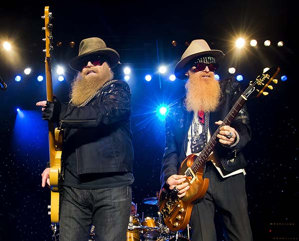 <div class='meta'><div class='origin-logo' data-origin='AP'></div><span class='caption-text' data-credit='Winslow Townson/Invision/AP'>Dusty Hill, left and Billy Gibbons of ZZ Top perform at Blue Hills Bank Pavilion on Sunday, August 28, 2016 in Boston.</span></div>