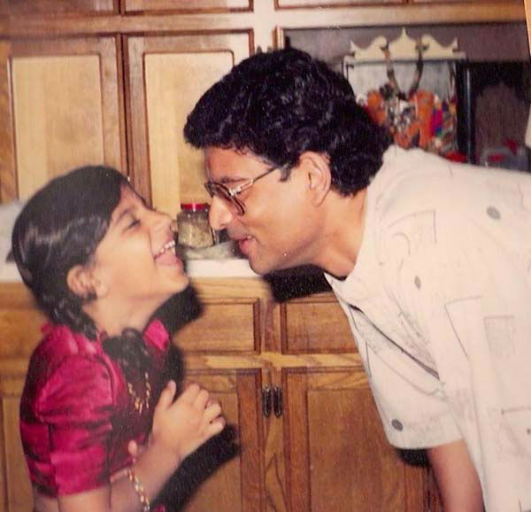 "<div class=""meta image-caption""><div class=""origin-logo origin-image none""><span>none</span></div><span class=""caption-text"">Pooja Lodhia with her father (KTRK Photo)</span></div>"