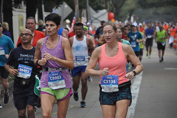 <div class='meta'><div class='origin-logo' data-origin='none'></div><span class='caption-text' data-credit=''>Athletes took to the streets of Houston for the Chevron Houston Marathon and Aramco Houston Half Marathon, Sunday, January 15, 2017.</span></div>