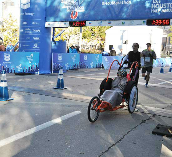 <div class='meta'><div class='origin-logo' data-origin='none'></div><span class='caption-text' data-credit='Photo/Ben Wolverton'>Photos from the finish line of the Chevron Houston Marathon and Aramco Half Marathon.  Send your photos to us at news@abc13.com.</span></div>