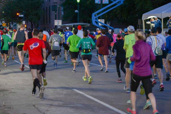 <div class='meta'><div class='origin-logo' data-origin='none'></div><span class='caption-text' data-credit='Photo/David Mackey'>Photos from finish line of Chevron Houston Marathon and Aramco Houston Half Marathon. Send your photos to news@abc13.com</span></div>