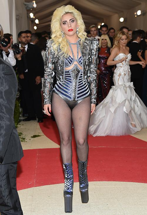 <div class='meta'><div class='origin-logo' data-origin='AP'></div><span class='caption-text' data-credit='Evan Agostini/Invision/AP'>Lady Gaga arrives at The Metropolitan Museum of Art Costume Institute Benefit Gala, celebrating the opening of &#34;Manus x Machina: Fashion in an Age of Technology&#34; in 2016.</span></div>