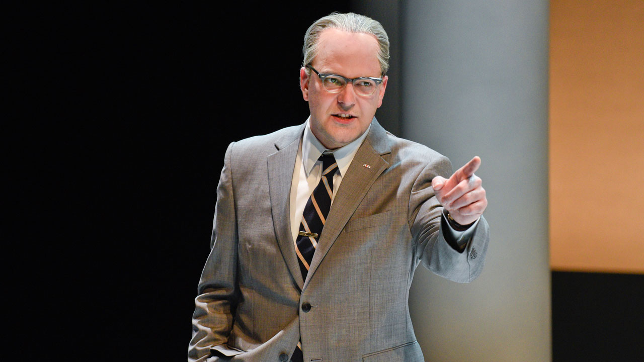 <div class='meta'><div class='origin-logo' data-origin='none'></div><span class='caption-text' data-credit='Karen Almond/Alley Theatre'>Brandon Potter as President Lyndon Baines Johnson in Alley Theatre's &#34;All the Way.&#34;</span></div>