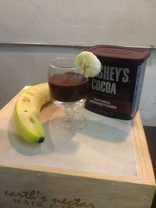 "<div class=""meta image-caption""><div class=""origin-logo origin-image none""><span>none</span></div><span class=""caption-text"">Five ingredients to get a chocolate lover's hair smoothie (Photo/KTRK)</span></div>"