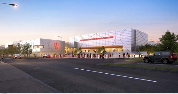 <div class='meta'><div class='origin-logo' data-origin='KTRK'></div><span class='caption-text' data-credit='University of Houston'>The University of Houston releases artist renderings of what the former Hofheinz Pavilion will look like.</span></div>