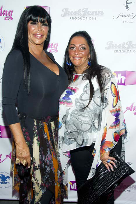 <div class='meta'><div class='origin-logo' data-origin='none'></div><span class='caption-text' data-credit='Charles Sykes/Invision/AP'>Angela Raiola, better know as Big Ang, and Janine Detore arrive to the premiere of her VH1 reality show &#34;Big Ang&#34;</span></div>