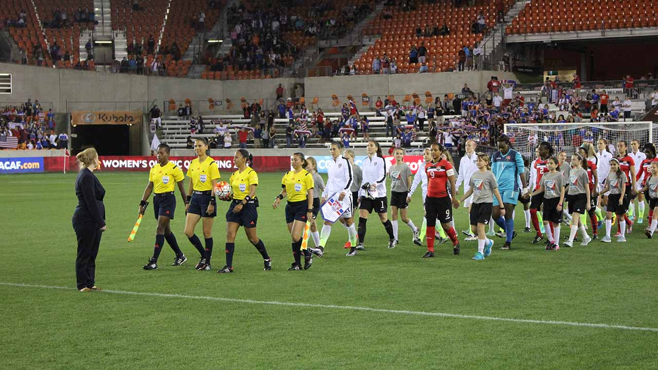 "<div class=""meta image-caption""><div class=""origin-logo origin-image ktrk""><span>KTRK</span></div><span class=""caption-text"">Scenes from the CONCACAF Women's Olympic Qualifying Championship semifinal matches at BBVA Compass Stadium. (Kirk Sowers)</span></div>"