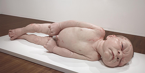"<div class=""meta image-caption""><div class=""origin-logo origin-image ktrk""><span>KTRK</span></div><span class=""caption-text"">Ron Mueck, A Girl,2006, mixed media, National Gallery of Canada, Ottawa. Photo: NGC. © Ron Mueck</span></div>"