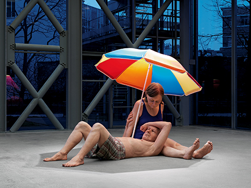 "<div class=""meta image-caption""><div class=""origin-logo origin-image ktrk""><span>KTRK</span></div><span class=""caption-text"">Ron Mueck, Couple under an Umbrella, 2013, mixed media, Courtesy Hauser & Wirth. Photo: Patrick Gries. © Ron Mueck</span></div>"