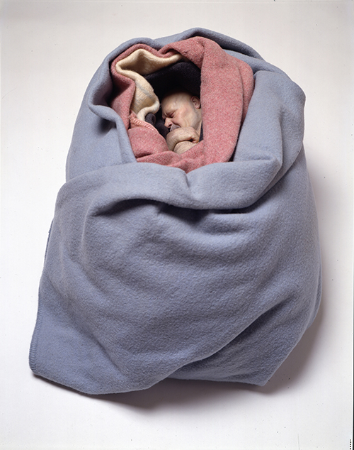"<div class=""meta image-caption""><div class=""origin-logo origin-image ktrk""><span>KTRK</span></div><span class=""caption-text"">Ron Mueck, Man in Blankets, 2000, mixed media, Private Collection. © Ron Mueck</span></div>"