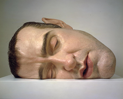 "<div class=""meta image-caption""><div class=""origin-logo origin-image ktrk""><span>KTRK</span></div><span class=""caption-text"">Ron Mueck, Mask II, 2001?02, mixed media, Gift of Helen and Charles Schwab through the Art Supporting Foundation to the San Francisco Museum of Modern Art. © Ron Mueck</span></div>"