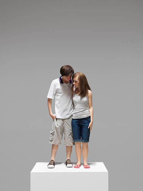 "<div class=""meta image-caption""><div class=""origin-logo origin-image ktrk""><span>KTRK</span></div><span class=""caption-text"">Ron Mueck, Young Couple, 2013, mixed media, Yageo Foundation Collection, Taiwan. Courtesy Hauser & Wirth. Photo: Patrick Gries. © Ron Mueck</span></div>"