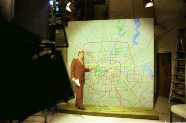"<div class=""meta image-caption""><div class=""origin-logo origin-image none""><span>none</span></div><span class=""caption-text"">Don Nelson at the old traffic board (KTRK Photo)</span></div>"