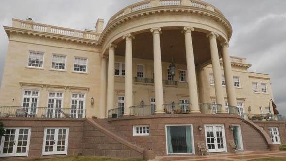 <div class='meta'><div class='origin-logo' data-origin='KTRK'></div><span class='caption-text' data-credit=''>This $6 million home, which sits right outside of Houston, is known as the White House of Texas.</span></div>