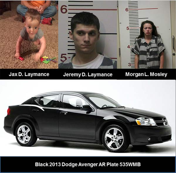 10-month-old boy abducted in Anderson County, triggering Amber Alert