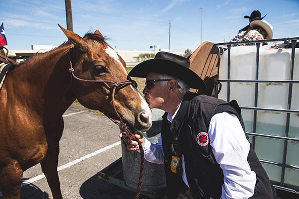 """<div class=""""meta image-caption""""><div class=""""origin-logo origin-image none""""><span>none</span></div><span class=""""caption-text"""">In a tradition dating back to 1959, the Valley Lodge Trail Riders are making their way to Houston.</span></div>"""