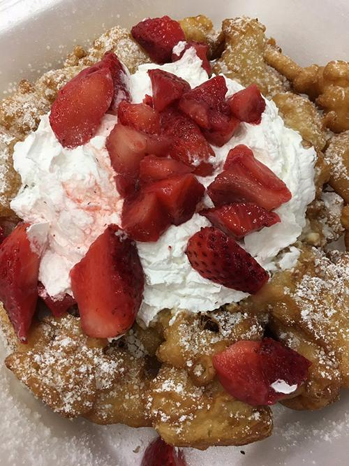 "<div class=""meta image-caption""><div class=""origin-logo origin-image ktrk""><span>KTRK</span></div><span class=""caption-text"">Katherine Whaley judges funnel cake at the Gold Buckle Foodie Awards.</span></div>"