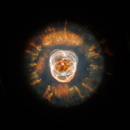 "<div class=""meta image-caption""><div class=""origin-logo origin-image none""><span>none</span></div><span class=""caption-text"">ESKIMO NEBULA: In 2000, Hubble captured a majestic view of a planetary nebula, the glowing  remains of a dying, Sun-like star. (NASA/ESA/Andrew Fruchter/ERO)</span></div>"