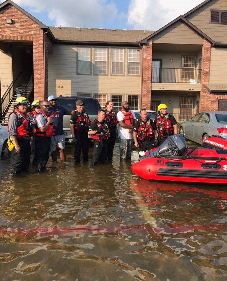 <div class='meta'><div class='origin-logo' data-origin='KTRK'></div><span class='caption-text' data-credit=''>Rapper Trae tha Truth in the community helping during and after Harvey</span></div>