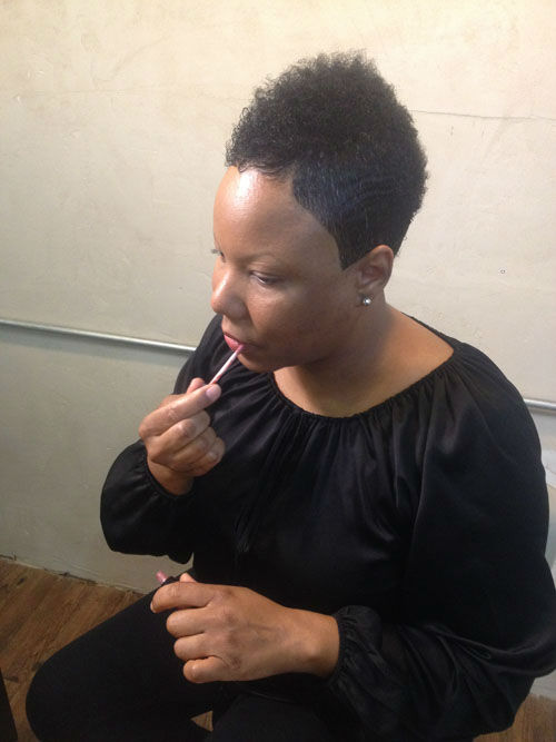 <div class='meta'><div class='origin-logo' data-origin='none'></div><span class='caption-text' data-credit='Photo/KTRK'>Tamika Fletcher with Natural Resources Salon and Earth's Nectar came up with a beauty routine that can help you look younger in just five steps.</span></div>