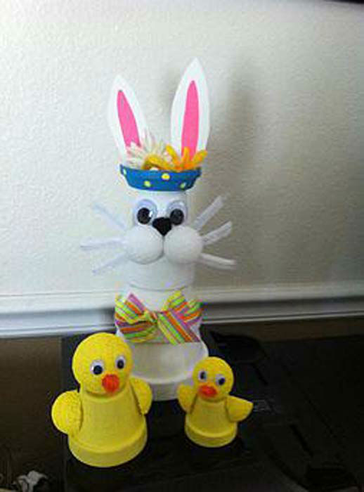 <div class='meta'><div class='origin-logo' data-origin='none'></div><span class='caption-text' data-credit='KTRK Photo/ Kat Cosley'>This cute Easter bunny & chick are an easy DIY that even the kiddos can create.</span></div>