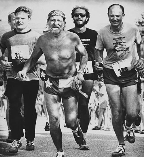 "<div class=""meta image-caption""><div class=""origin-logo origin-image ap""><span>AP</span></div><span class=""caption-text"">Willie Nelson crosses the finish line at the first annual Willie Nelson distance classic on Sunday, June 15, 1980 near Lake Travis in Austin, Texas. (AP Photo/Daemmrich)</span></div>"