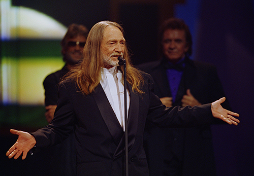 "<div class=""meta image-caption""><div class=""origin-logo origin-image ap""><span>AP</span></div><span class=""caption-text"">Country singer-songwriter Willie Nelson appears at the Country Music Association Awards in Nashville, Tenn., Sept. 29, 1993. (AP Photo/Mark Humphrey)</span></div>"
