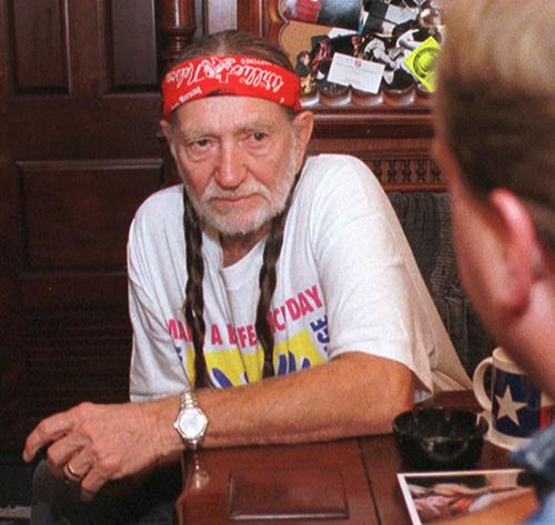 "<div class=""meta image-caption""><div class=""origin-logo origin-image ap""><span>AP</span></div><span class=""caption-text"">Willie Nelson listens to Kit Fogle, legistative director of the Ohio Farmers Union as he talks about livestock operations Wedensday, Aug. 12, 1998, in Columbus, Ohio. (AP Photo/Terry Gilliam)</span></div>"