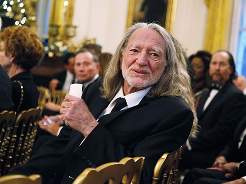 "<div class=""meta image-caption""><div class=""origin-logo origin-image ap""><span>AP</span></div><span class=""caption-text"">Country singer Willie Nelson attends a reception for the recipients of the 2010 Kennedy Center Honors in East Room of the White House, Sunday, Dec. 5, 2010. (AP Photo/Manuel Balce Ceneta)</span></div>"