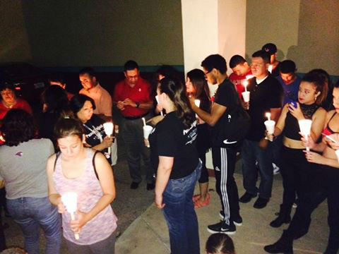 <div class='meta'><div class='origin-logo' data-origin='none'></div><span class='caption-text' data-credit='Baldemar Rodriguez/TBH'>A vigil for Selena took place Tuesday night, March 31, 2015 at the TBH Latino Cultural Arts Center.</span></div>