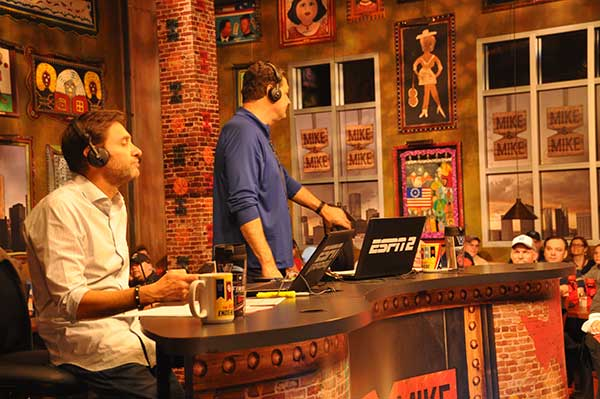 <div class='meta'><div class='origin-logo' data-origin='none'></div><span class='caption-text' data-credit=''>Mike and Mike live at The House of Blues</span></div>
