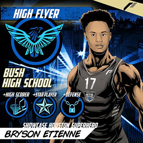 <div class='meta'><div class='origin-logo' data-origin='none'></div><span class='caption-text' data-credit='Showcase Houston'>Meet Bryson Etienne of Bush High School.</span></div>