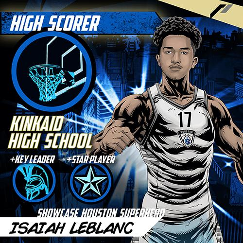 <div class='meta'><div class='origin-logo' data-origin='none'></div><span class='caption-text' data-credit='Showcase Houston'>Meet Isaiah LeBlanc of Kinkaid High School.</span></div>