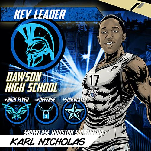<div class='meta'><div class='origin-logo' data-origin='none'></div><span class='caption-text' data-credit='Showcase Houston'>Meet Karl Nicholas of Dawson High School.</span></div>