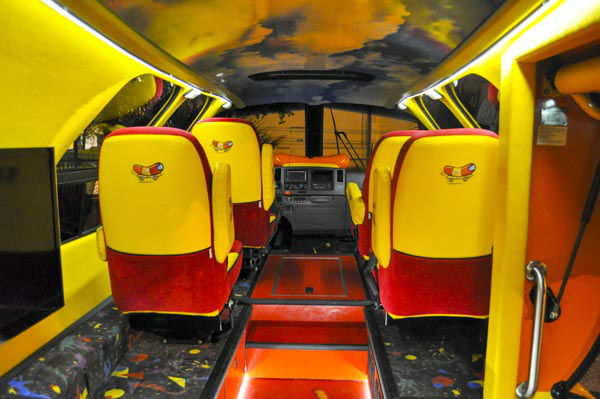 The Oscar Mayer Wienermobile furthermore Wienermobile together with Mini furthermore A Weinermobile Visits Milwaukee No Baloney as well The Life Of A Wienermobile Driver. on oscar mayer wiener car interior
