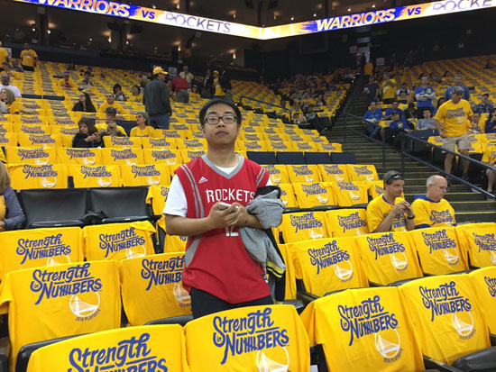 <div class='meta'><div class='origin-logo' data-origin='KTRK'></div><span class='caption-text' data-credit=''>Houston Rockets fans at Oracle Arena in Oakland, California.</span></div>