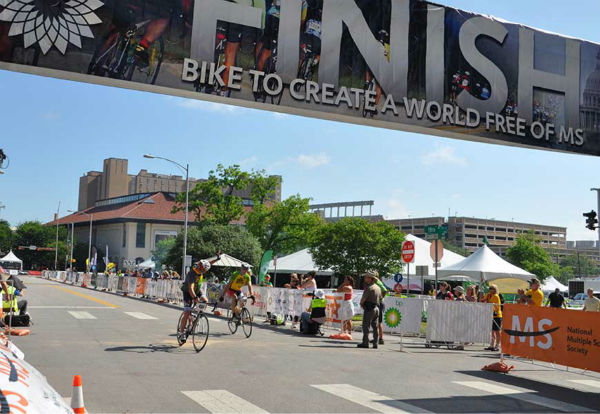 <div class='meta'><div class='origin-logo' data-origin='none'></div><span class='caption-text' data-credit='Photo/ABC-13'>Photos from around the finish line in Austin for Sunday's BP MS 150.  If you have photos from the ride, email them to us at news@abc13.com or post them using #abc13eyewitness</span></div>