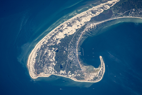 "<div class=""meta image-caption""><div class=""origin-logo origin-image none""><span>none</span></div><span class=""caption-text"">The northern tip of Cape Cod showing 8.5 miles of its 65-mile length. (NASA)</span></div>"