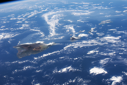 "<div class=""meta image-caption""><div class=""origin-logo origin-image none""><span>none</span></div><span class=""caption-text"">Hawaii's Kilauea volcano with the long swirls of volcanic gases wafting west from the volcano. (NASA)</span></div>"
