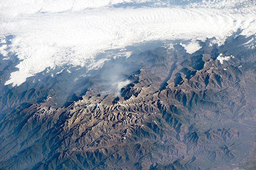 <div class='meta'><div class='origin-logo' data-origin='none'></div><span class='caption-text' data-credit='NASA'>A dramatic view of the many peaks of Colombia's Santa Marta massif.</span></div>