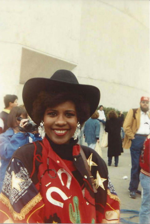 "<div class=""meta image-caption""><div class=""origin-logo origin-image none""><span>none</span></div><span class=""caption-text"">Melanie Lawson at the Rodeo years ago (KTRK Photo)</span></div>"