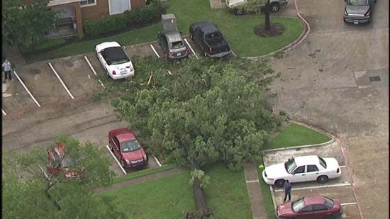 <div class='meta'><div class='origin-logo' data-origin='KTRK'></div><span class='caption-text' data-credit='KTRK'>Damage seen after severe storms across southeast Texas</span></div>