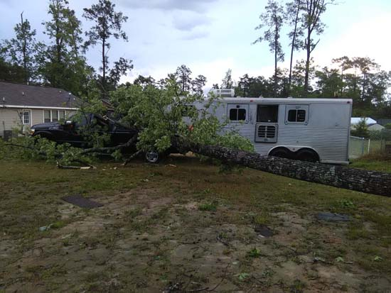 <div class='meta'><div class='origin-logo' data-origin='KTRK'></div><span class='caption-text' data-credit='Viewer-submitted photo'>Damage seen across southeast Texas following severe storms</span></div>