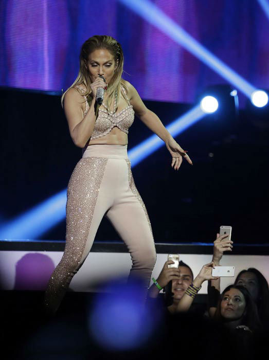 "<div class=""meta image-caption""><div class=""origin-logo origin-image none""><span>none</span></div><span class=""caption-text"">Jennifer Lopez performs during the Latin Billboard Awards Thursday, April 30, 2015, in Coral Gables, Fla.  (AP Photo/ Lynne Sladky)</span></div>"